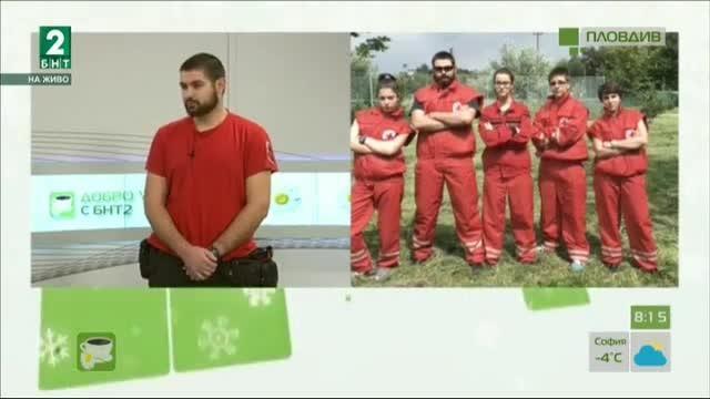 Пловдивчанин, номиниран за доброволец на годината