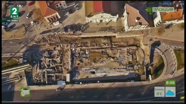 Зелена светлина на проекта за Голямата базилика в Пловдив