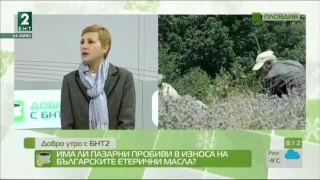 Има ли пазарни пробиви в износа на българските етерични масла