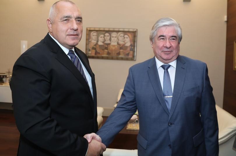 PM Borissov met with Russian Ambassador to Bulgaria Anatoly Makarov