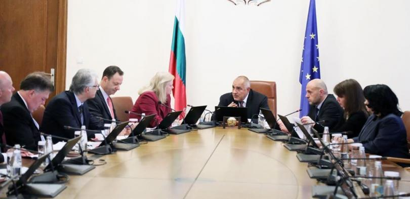 Bulgaria's Prime Minister Borissov met with energy experts from the USA