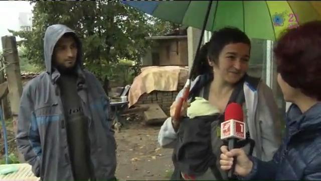 Един дъждовен ден в зеленчуковия рай на Ани и Стоян от село Добри дол