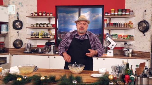 Макаронена салата с мариновани лукчета в Бързо, лесно, вкусно - 11.12.2014