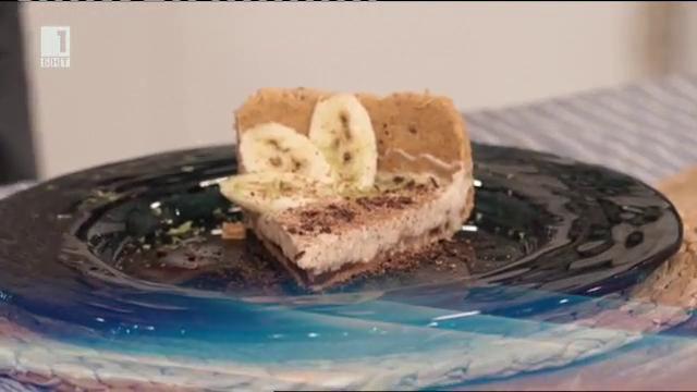 Тарт с бананов мус