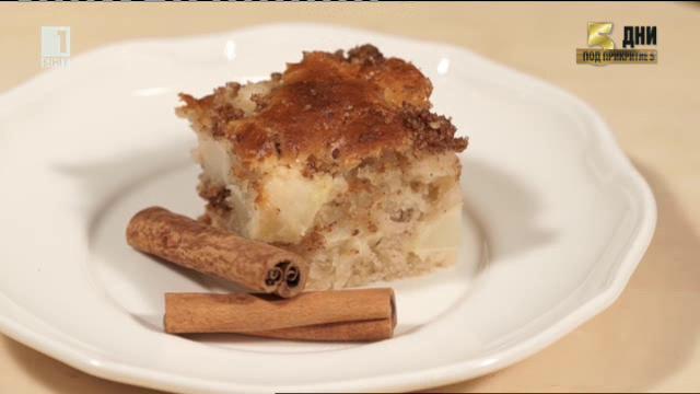 Домашен ябълков кекс