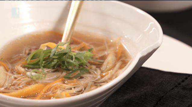 Телешка супа с джинджифил