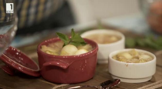 Десерт с маринован джинджифил