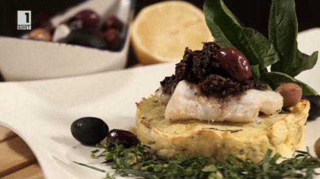 Картофен бъргър с риба