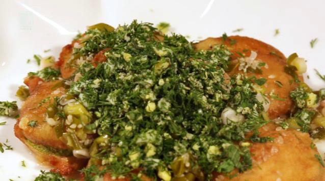 Панирани тиквички с меден сос от Андалусия