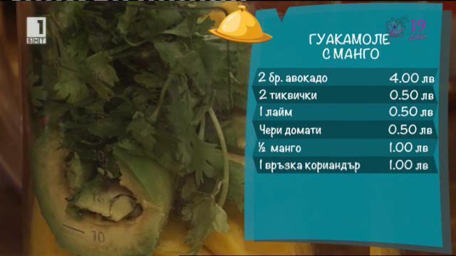 Гуакамоле с манго