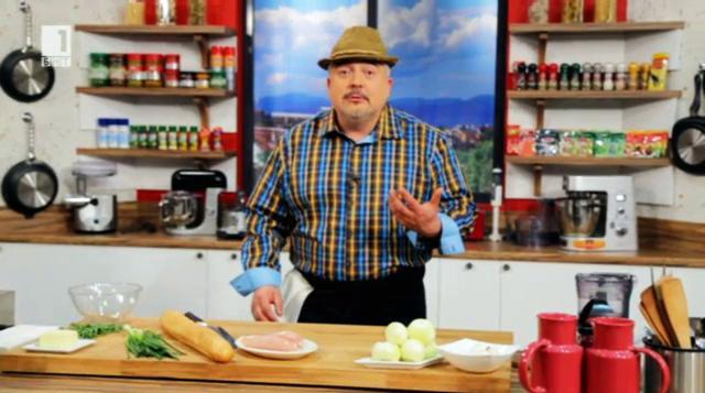 Балкански пилешки котлет - Бързо, лесно, вкусно - 8 май 2014
