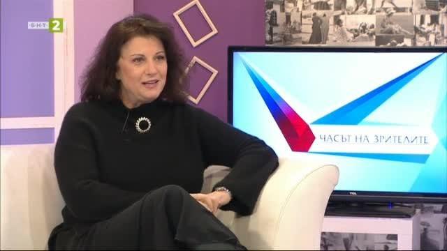 Жана Караиванова - гост в Часът на зрителите