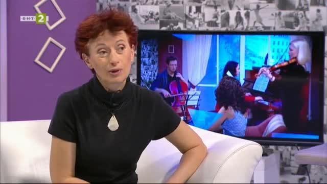 Журналистката Алексения Димитрова - гост в Часът на зрителя