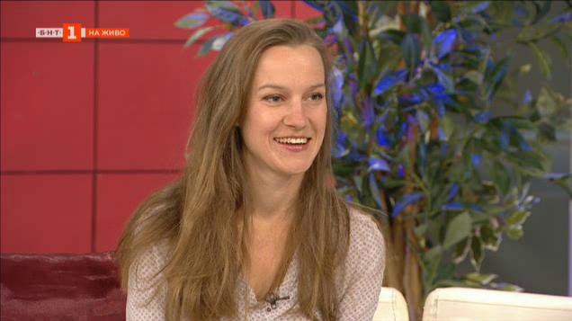 Актрисата Дария Симеонова между майчинството и новите проекти