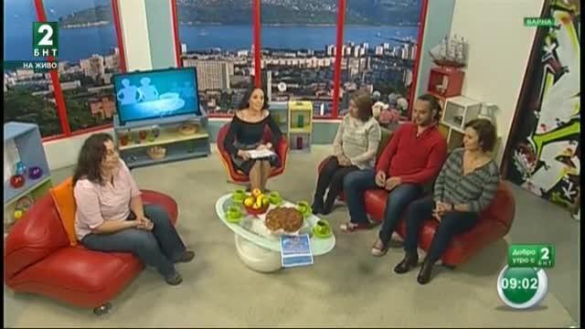 Добро утро с БНТ2, излъчванe от Варна – 1.11.2017г.