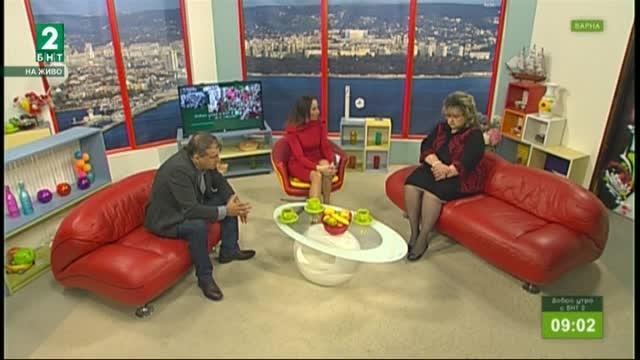 Добро утро с БНТ2, излъчванe от Варна – 14.03.2018г.