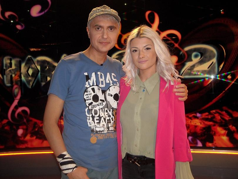 Памела Калоянова и Нелина Георгиева в НОВО 10+2