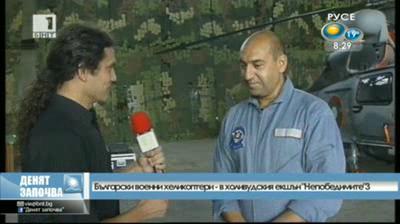 Български военни хеликоптери в холивудския екшън Непобедимите 3