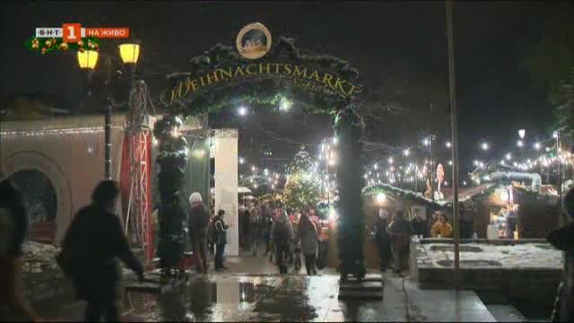 Разходка из Коледния базар в столицата