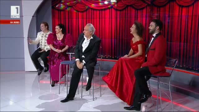 100 години оперета в България - артистите празнуват в студиото на БНТ