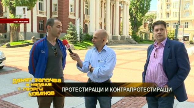 Гласът на народа: протестиращи и контрапротестиращи на живо от София