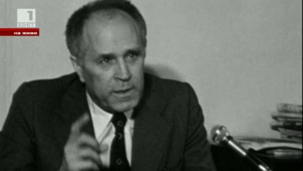 """""""Живите архиви"""" от 1969 година: Николай Хайтов, запис от Златния фонд на БНТ"""