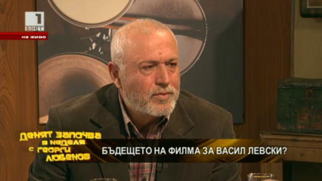 Максим Генчев продължава снимките на филма за Левски