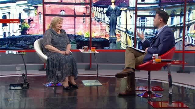 Актрисата Слава Рачева на 80 и нейната рецепта за дълголетие