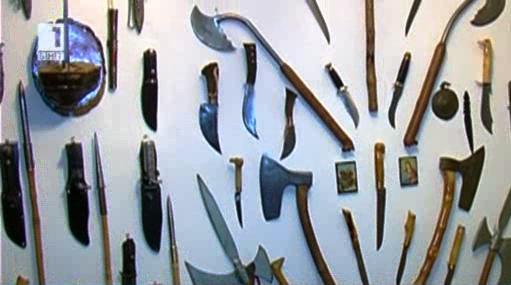 Уникална колекция от оръжия