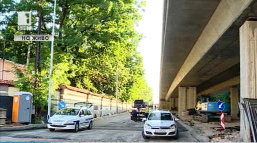Кръстовището на Семинарята отново е затворено