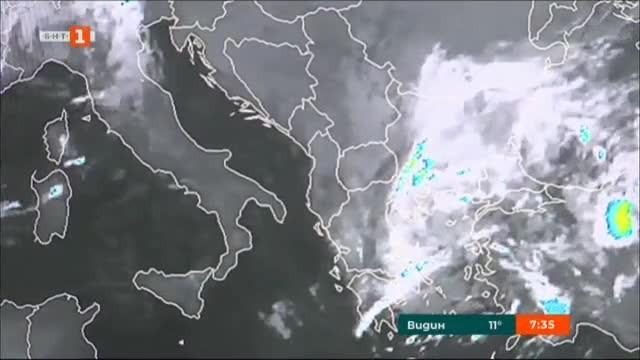 НХМИ: Валежите спират, температурите се покачват над 20 градуса