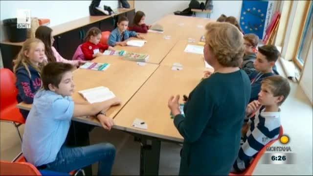 Българско училище в Страсбург пази националните ценности