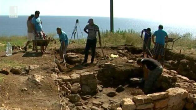 Приключи археологическото лято на нос Калиакра