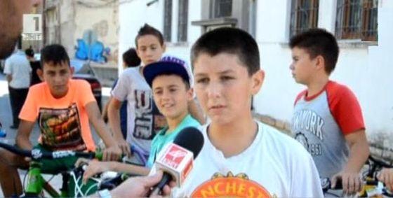 Деца в Сливен поискаха велосипеден парк
