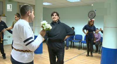 Народни танци за хора със зрителни нарушения