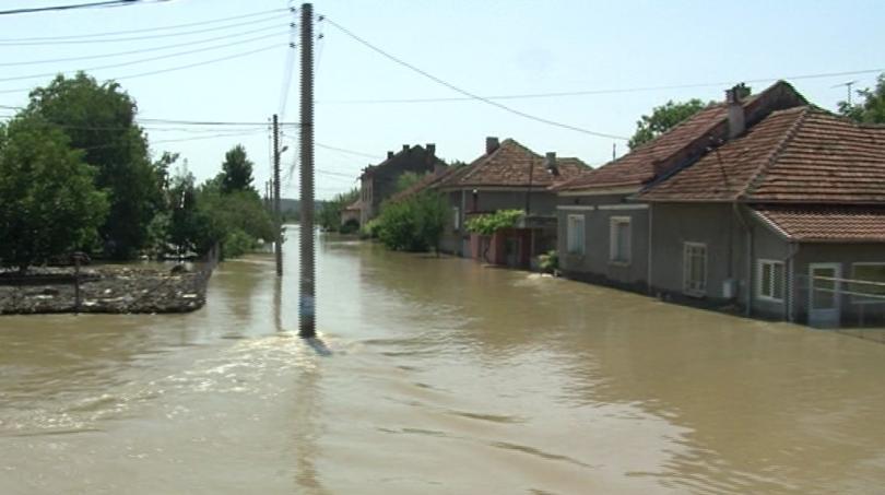 Потопът в град Мизия
