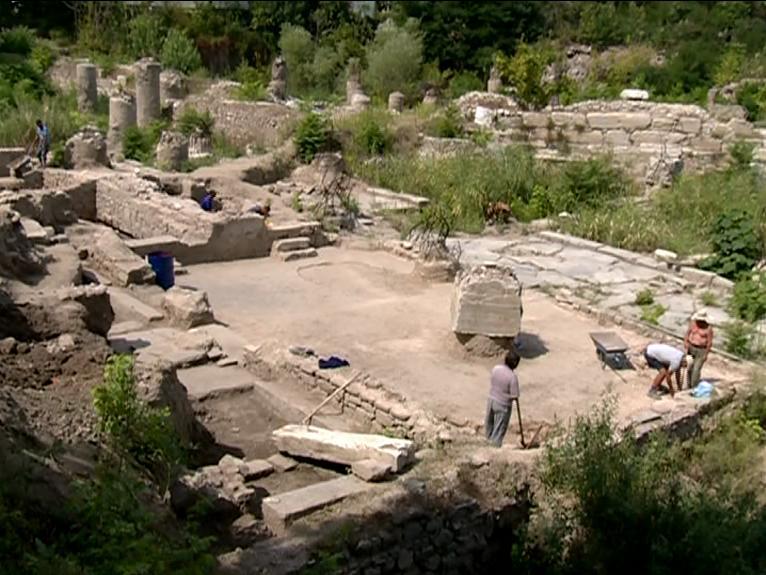 Археологически разкопки в Пловдив