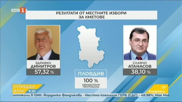 Изборът на Пловдив - новоизбраният кмет Здравко Димитров