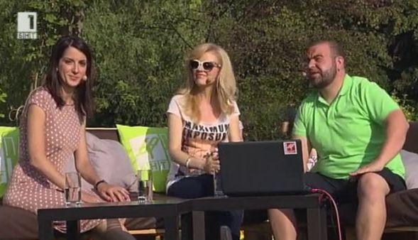 Нели Петкова и Ася Методиева в БНТ ПАРК LIVE