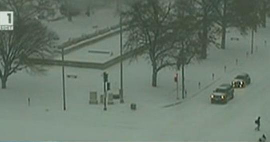 Снежни бури и студ в САЩ