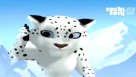 Олимпийските талисмани: Снежният леопард