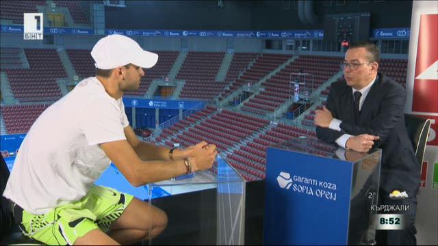 Григор Димитров пред БНТ: Вече е ретро да ме сравняват с Федерер