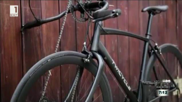 Велосипед, който може да се превърне в малък гимнастически салон