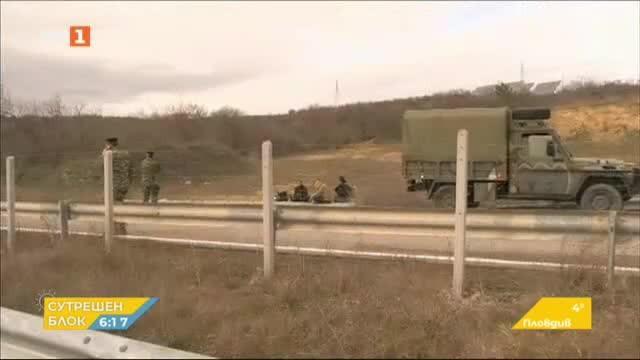 Армията пое контрола над гръцко-турската граница в областта Еврос