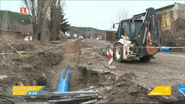 Изграждането на водопровода за Перник достигна града
