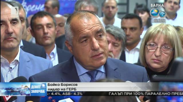 Борисов: При тази конфигурация аз не виждам как ще се направи правителство