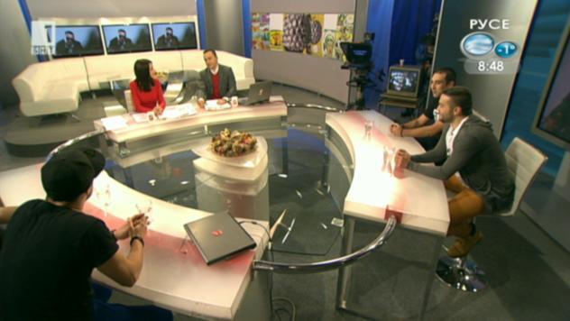 """Квартетът Руди, Дули, Муден и Кукушев – гост в студиото на """"Денят започва"""""""