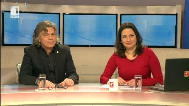 Музикантът Иван Лечев в Денят започва с култура, 07.01.2015