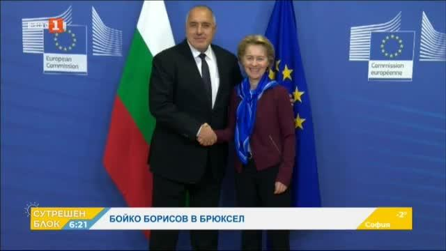 Премиерът Бойко Борисов в Брюксел