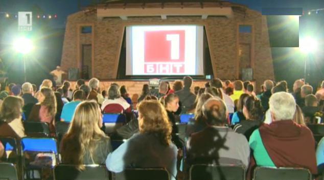 Пътуващото лятно кино на БНТ беше избрано за кампания на 2013 година
